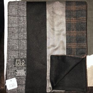 Jos A Bank cashmere blend scarf NWT